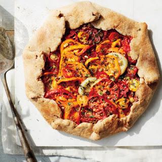 Heirloom Tomato Crostata With Buttermilk-Whole-Wheat Crust