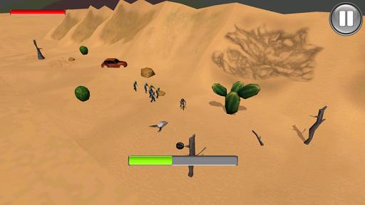 Zombies In The Desert 3D