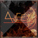 Fire AVEEX GO Locker Theme icon