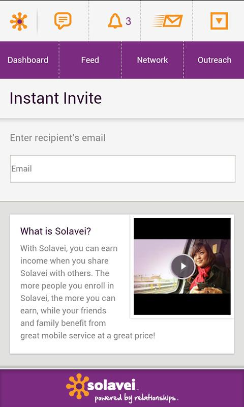 MySolavei App - screenshot