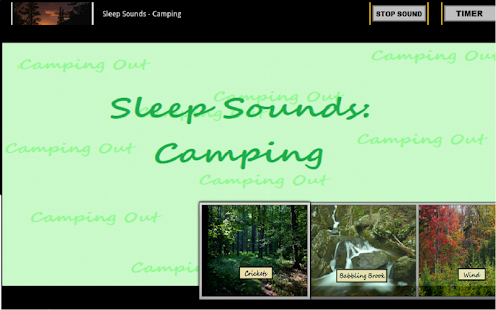 Sleep Sounds: Camping - screenshot thumbnail