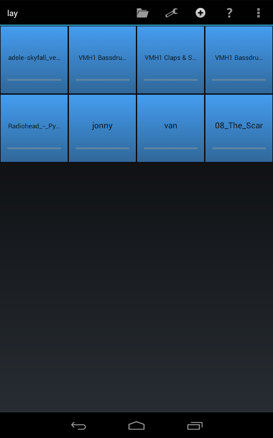 SoundGrid Lite - screenshot