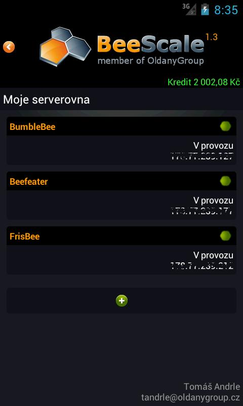 BeeScale Client- screenshot