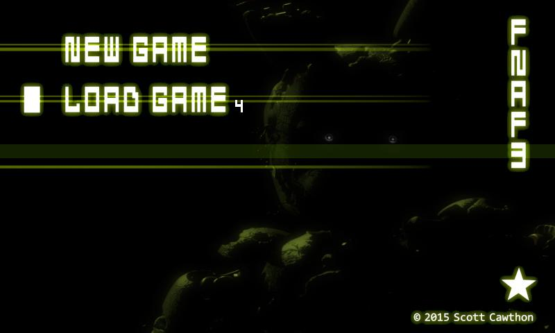 Screenshots of Five Nights at Freddy's 3 Demo for Android