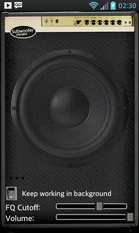 Subwoofer Bass Vibrator- screenshot