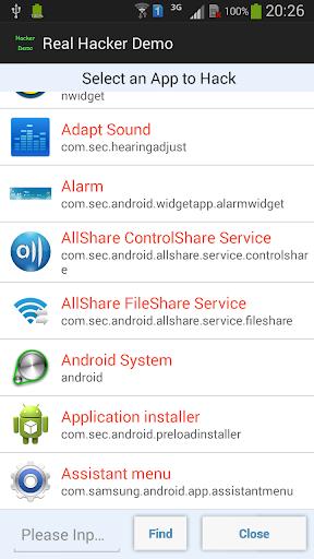 Real Hacker Demo Screenshot