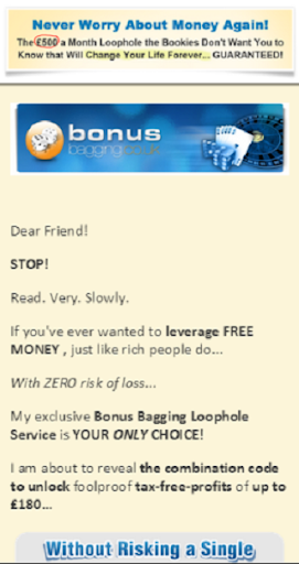 Bonus Bagging-Make Easy Money