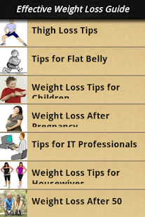 Effective Weight Loss Guide - screenshot thumbnail