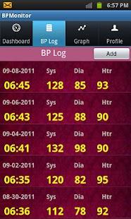 BPMonitor- screenshot thumbnail