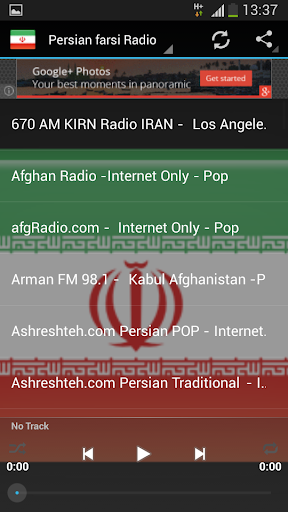Persian farsi Radio