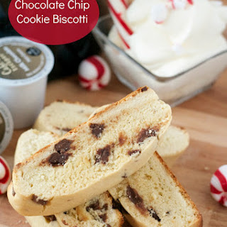 Chocolate Chip Cookie Biscotti