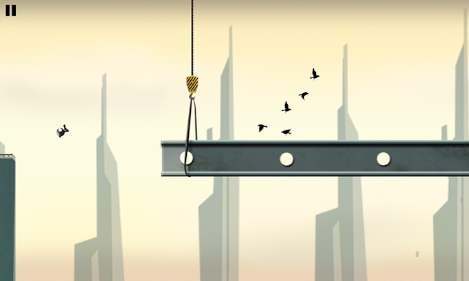 Stickman Roof Runner screenshot
