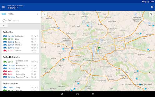 CG Transit offline jízdní řády - screenshot thumbnail