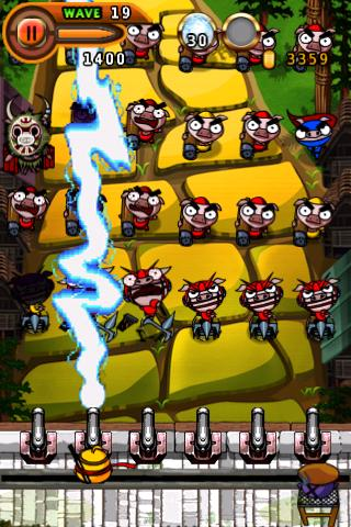 Ninja Chicken 2: Shoot'em up - screenshot