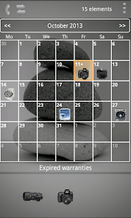 My Warranties Lite - screenshot thumbnail