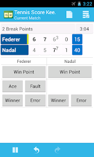 Tennis Score Keeper - screenshot thumbnail