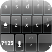 BlackGlass KeyboardSkin