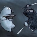 Bear ninja Live Wallpaper icon