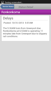LIRR TrainTime - screenshot thumbnail