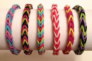 Screenshot of Fishtail Rainbow Loom Bracelet
