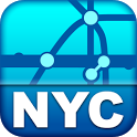 New York Transport Map - Free icon