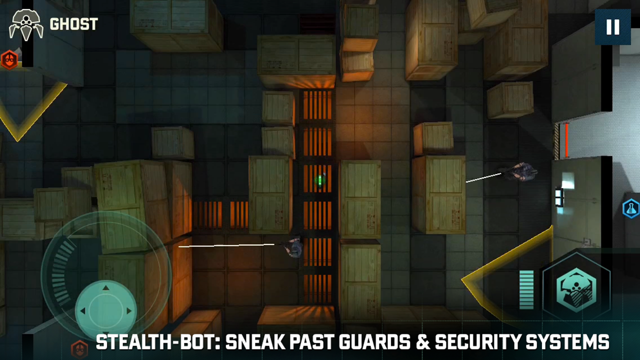 SC Blacklist: Spider-Bot - screenshot