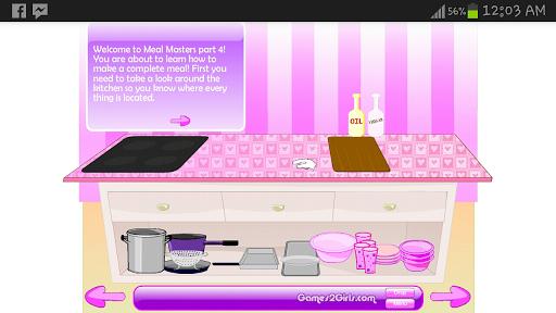 扮靚烹飪化妝遊戲