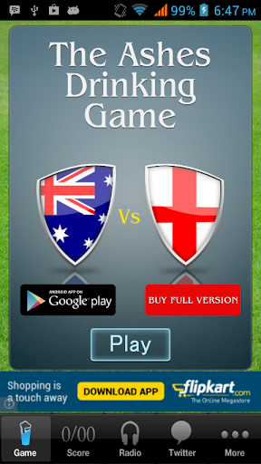 The Ashes App Free version