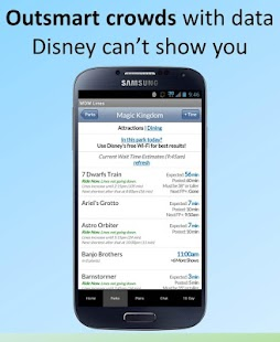 Disney World Lines - screenshot thumbnail