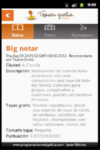 Tapear Gratis- screenshot
