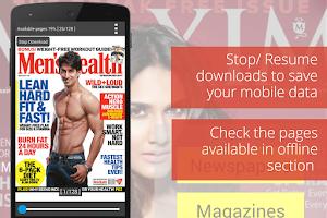 Screenshot of readwhere - News & Magazines
