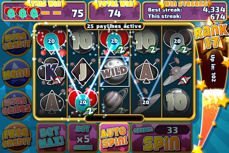Astro Invaders Slots - screenshot thumbnail