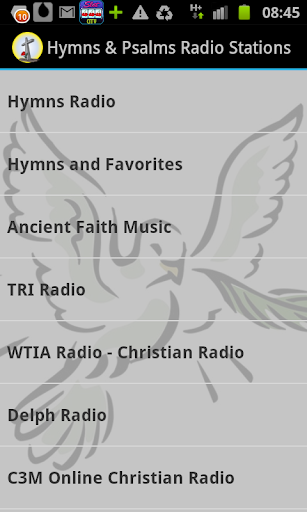 Hymns Psalms Radio Stations