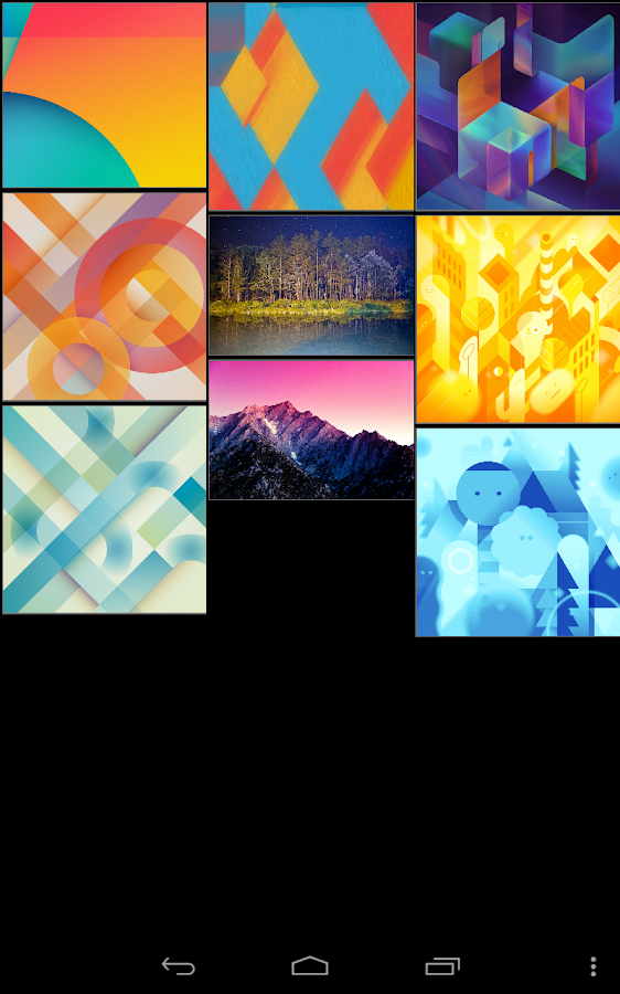 Android KitKat Wallpapers - screenshot