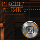Orange Circuit Theme TSF SHELL