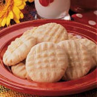 Crispy Butter Cookies.