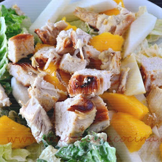 Chicken Salad with Mango and Jicama.