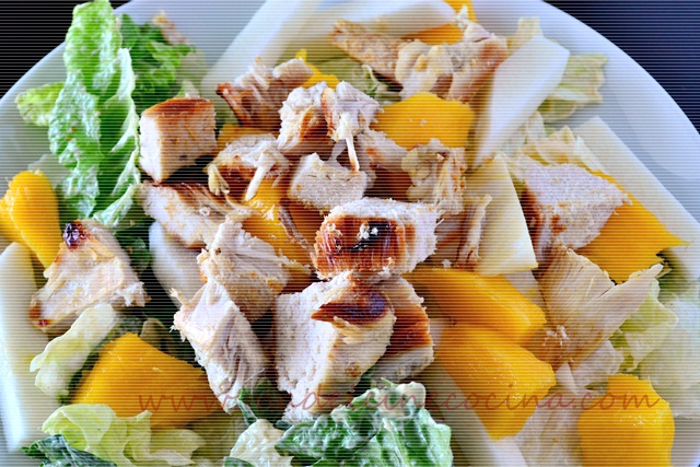 Chicken Salad with Mango and Jicama