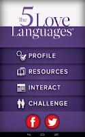 Screenshot of The 5 Love Languages