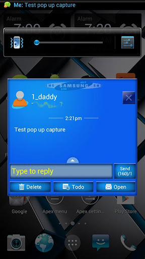 【免費個人化App】Samsung Theme Go SMS  Pro-APP點子
