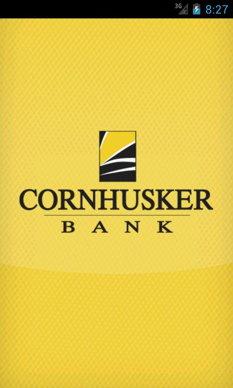 Cornhusker Bank Mobile Banking - screenshot