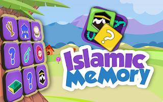 Screenshot of Kids Islamic Memory Game