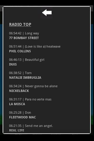 RADIO TOP - screenshot