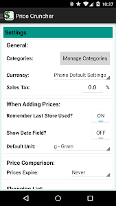 Price Cruncher - Price Compare screenshot 7
