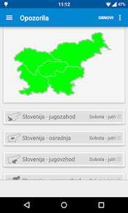 Dež - Slovenian rain radar- screenshot thumbnail