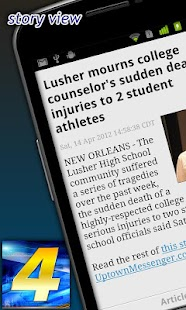 WWL-TV News - screenshot thumbnail