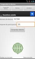 Screenshot of Lotería Navidad 2014