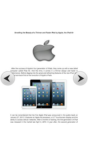 Ipad Air Is The New Elegance