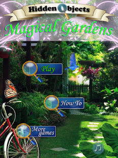 Hidden Objects Magical Gardens