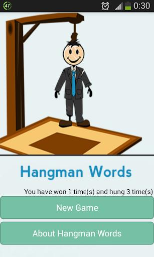 Hangman Words